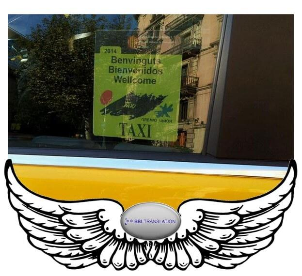 Taxi Barcelona BBL Angel Wings