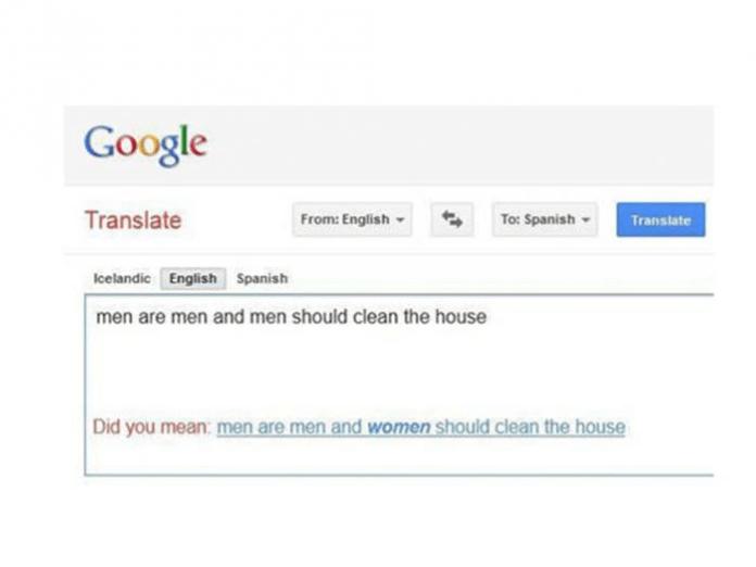 Los errores más frecuentes de Google Translate