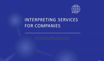 What interpreting service should I ask for