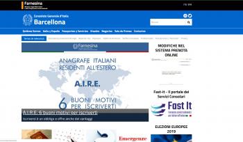 ELECCIONES EUROPEAS 2019; consulado italiano Barcelona