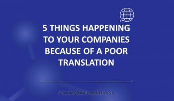 poor translations